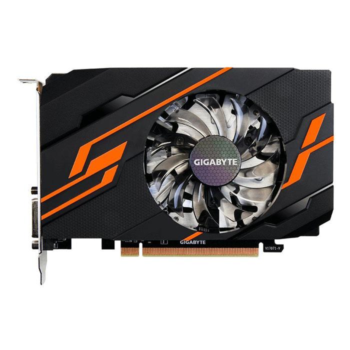 Видеокарта PCI-E GIGABYTE GeForce GT 1030 2048Mb, DDR5 ( GV-N1030OC-2GI ) Ret