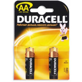 Батарейки Duracell LR6-2BL Basic AA 2шт.