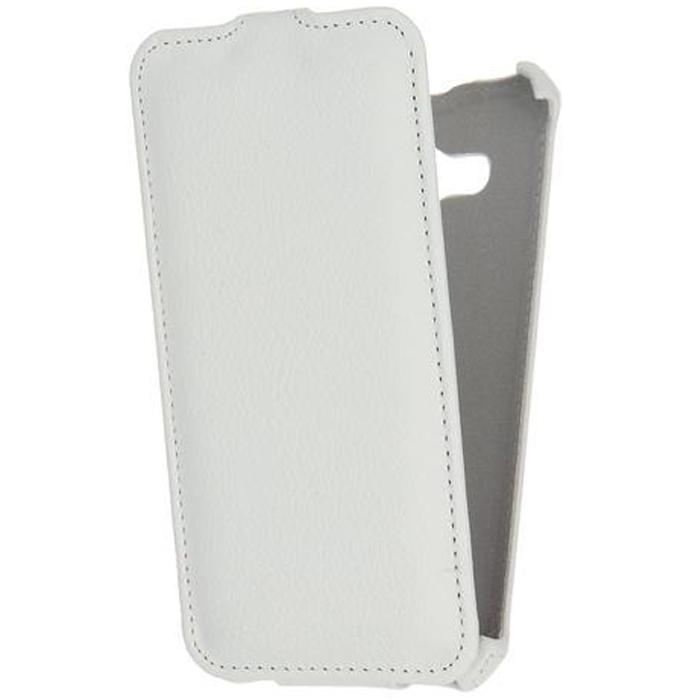 Чехол Gecko Flip case для Samsung Galaxy J3 (2016) SM-J320F, белый