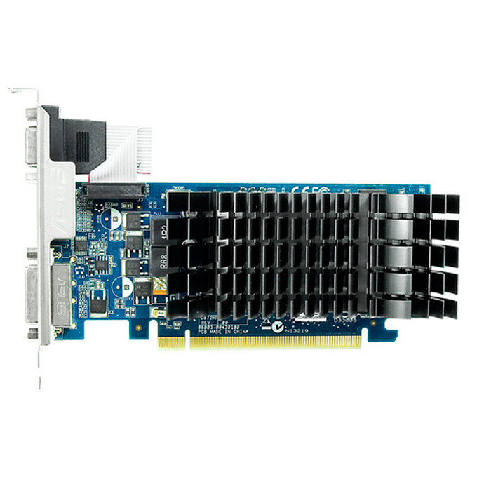 Видеокарта PCI-E ASUS GeForce GT 210 1024Mb, DDR3 ( 210-SL-TC1GD3-L ) Retail