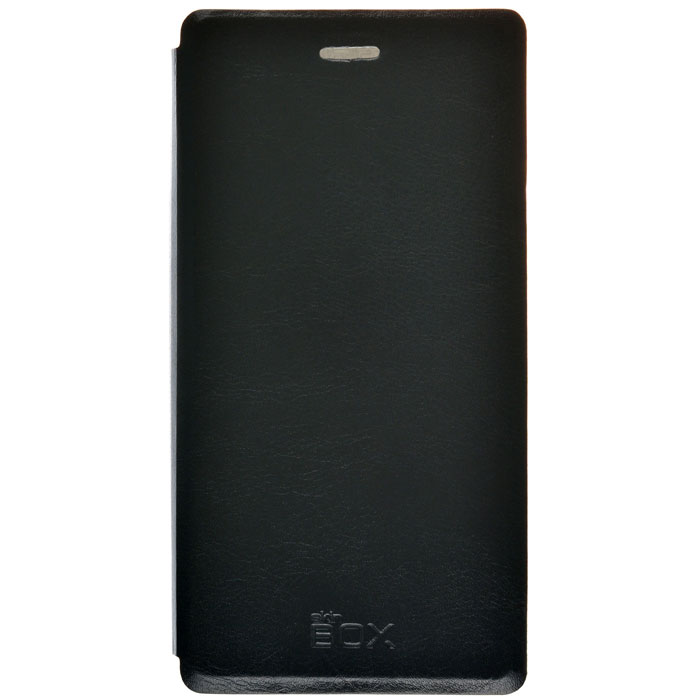 Чехол SkinBox Lux для Philips Xenium V787, черный