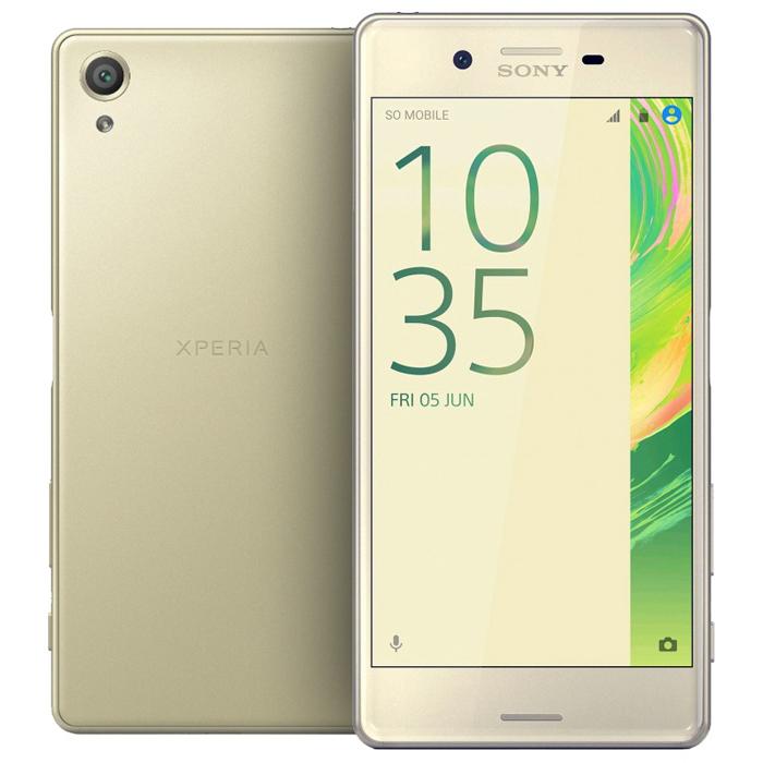 Смартфон Sony F8132 Xperia X Perfomance Dual Sim Lime Gold
