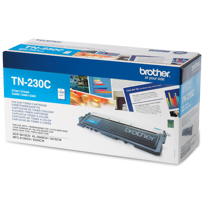 Картридж Brother TN-230C Cyan