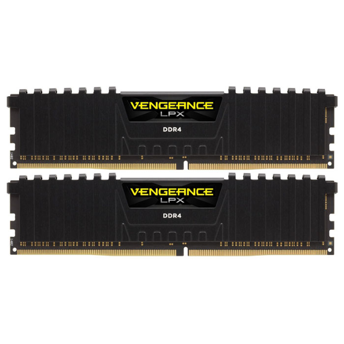 Модуль памяти DDR4 8Gb (2х4Gb) PC-24000 3000MHz Corsair ( CMK8GX4M2B3000C15 )