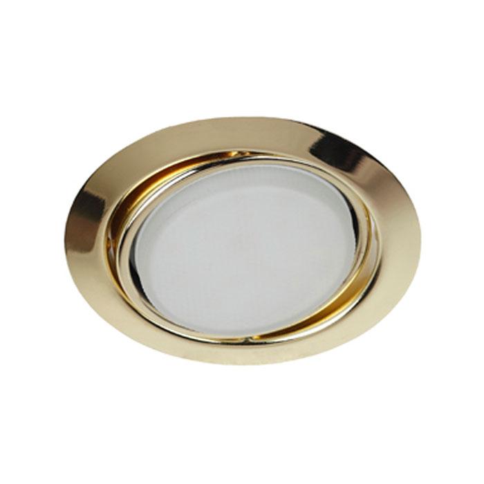 Светильник ЭРА Б0017640 KL35 А GD GX53, 220V, 13W золото, поворотный