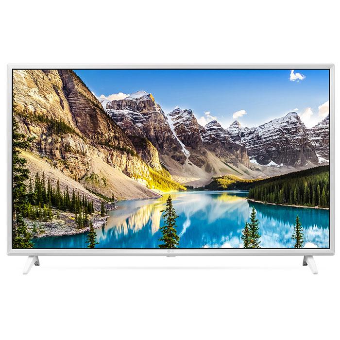 Телевизор ЖК 43″ LG 43UJ639V белый