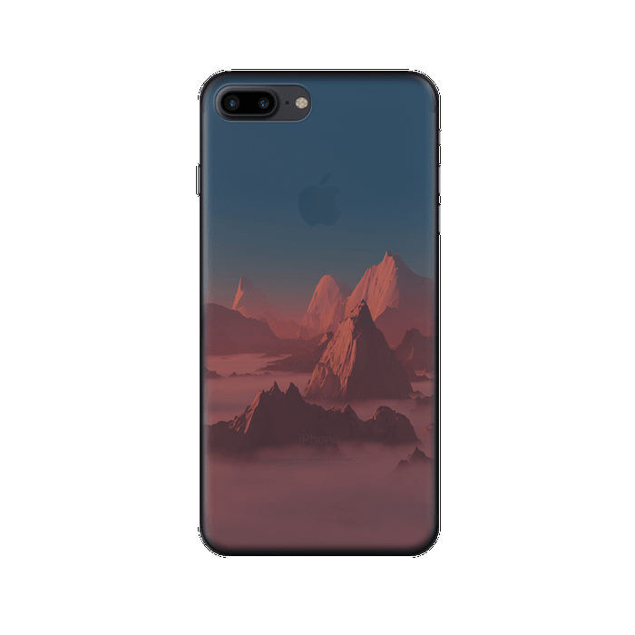 Чехол Deppa Art Case с пленкой для iPhone 7 Plus, Nature, Горы