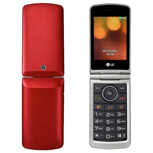 Телефон LG G360 красный