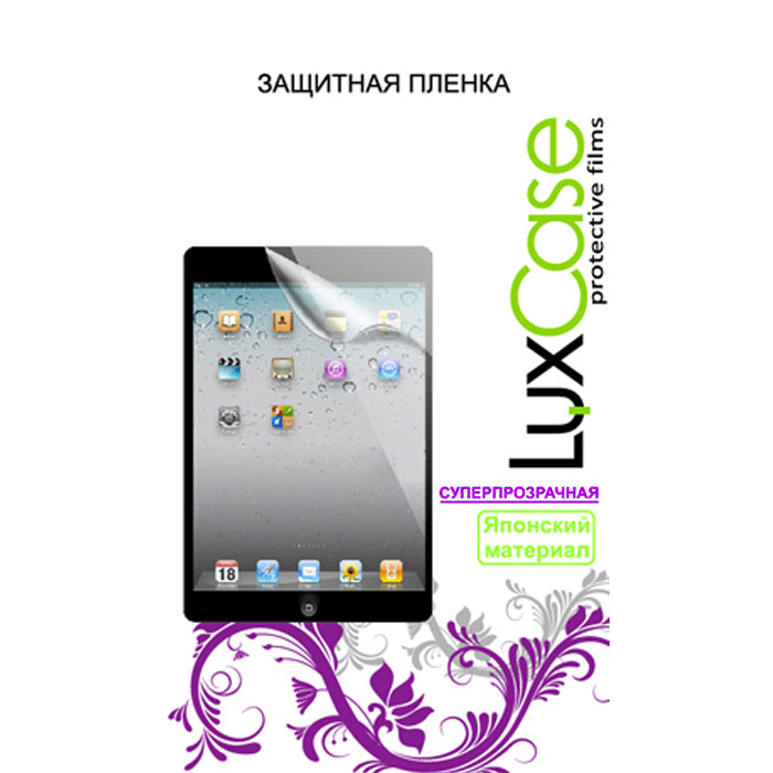Защитная плёнка Luxcase для Samsung Galaxy Tab A 10.1 SM-T580\SM-T585, Суперпрозрачная