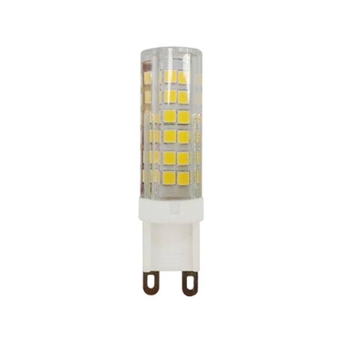 Светодиодная лампа ЭРА JCD G9 7W 230V белый свет
