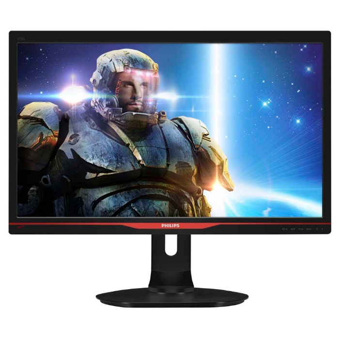 Монитор ЖК Philips 272G5DJEB 27″ black VGA DVI HDMI DisplayPort