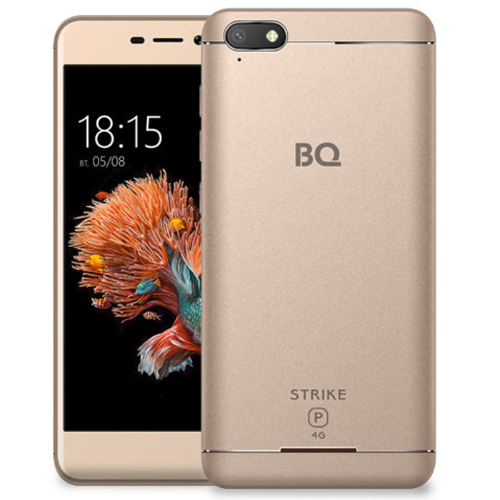Смартфон BQ Mobile BQ-5037 Strike Power 4G Gold