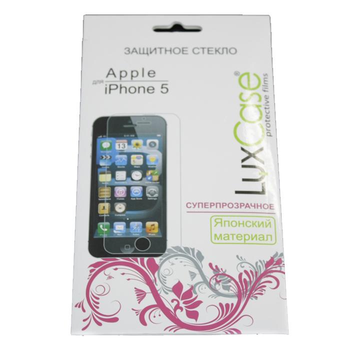 Защитное стекло для iPhone 5/iPhone 5c/iPhone 5s 0,3 мм LuxCase