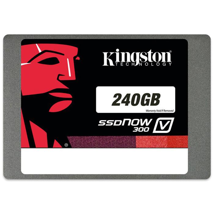 Накопитель 2.5″ SSD SATA3 240Гб Kingston V300 ( SV300S37A/240G )