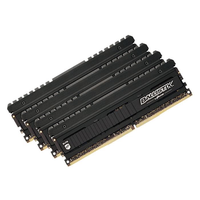 Модуль памяти DDR4 16Gb (4х4Gb) PC-24000 3000MHz Crucial ( BLE4C4G4D30AEEA )