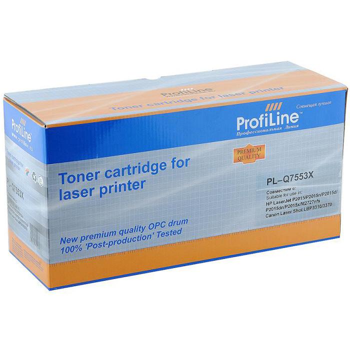 Картридж ProfiLine PL-Q7553X