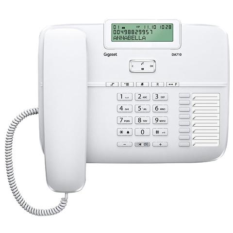 Телефон Siemens Gigaset DA710 белый