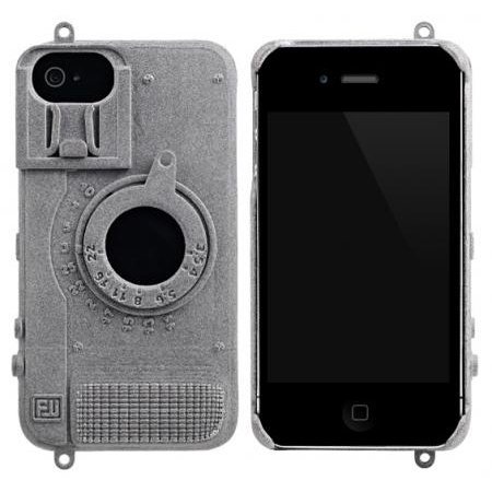 Чехол для iPhone 4/4S FreshFiber Camera Grey