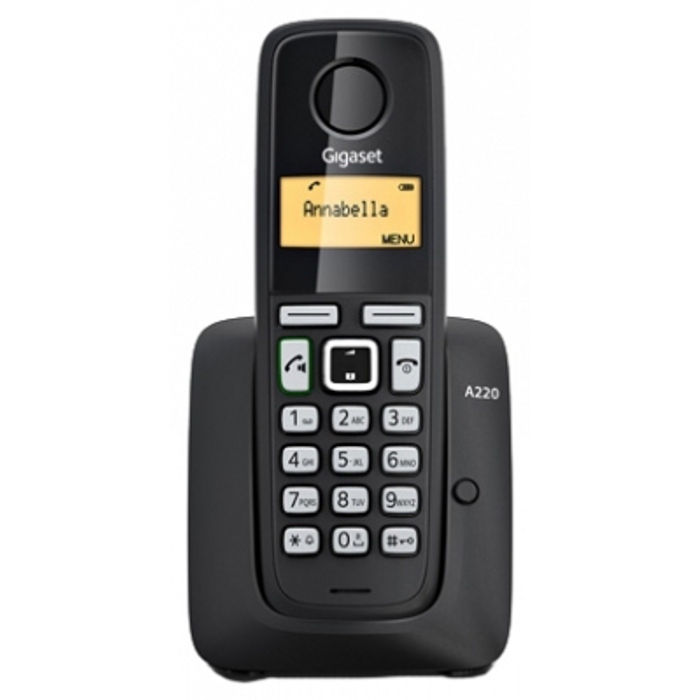 Телефон Siemens Dect Gigaset A220 Black