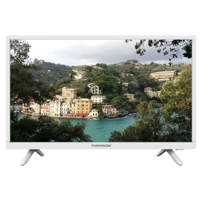 Телевизор ЖК 24″ Thomson T24E20DH-01W белый