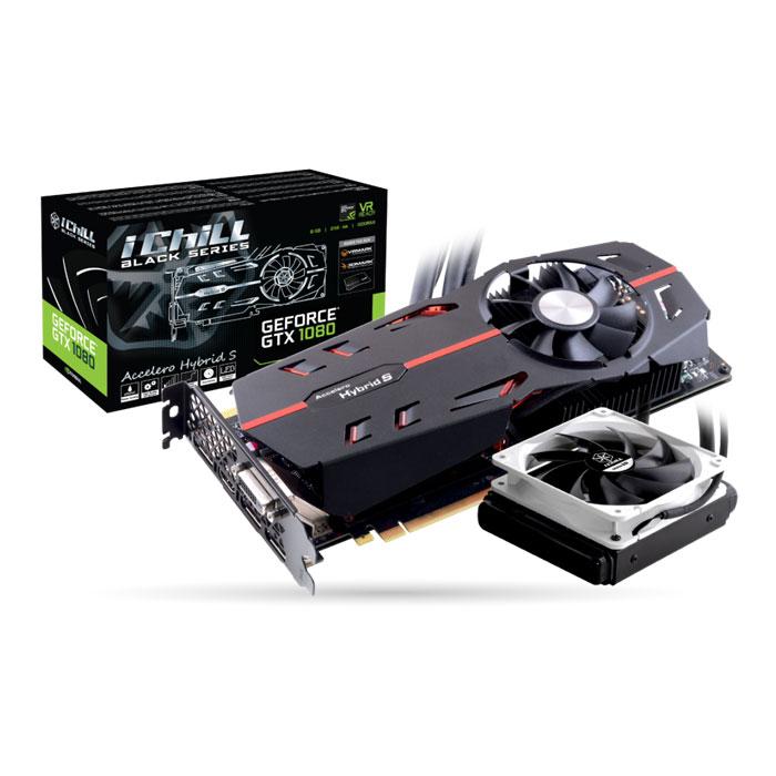Видеокарта PCI-E Inno3D nVidia GeForce GTX 1080 iChill Black 8192Mb DDR5 ( C108B-3SDN-P6DNX ) Ret