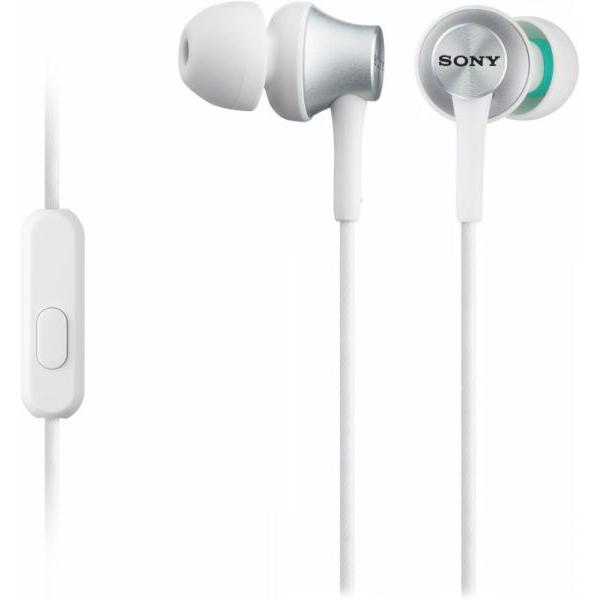 Гарнитура Sony MDR-EX450APW белый