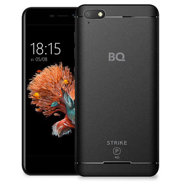 Смартфон BQ Mobile BQ-5037 Strike Power 4G Black