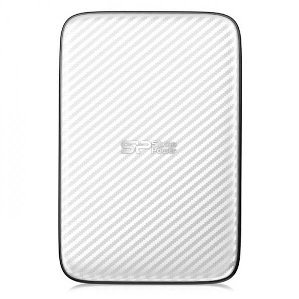 Внешний жесткий диск USB3.0 2.5″ 500Гб Silicon Power Diamond D20 ( SP500GBPHDD20S3W ) Белый