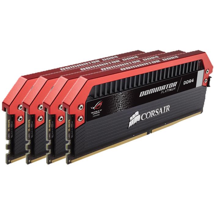 Модуль памяти DDR4 32Gb (4х8Gb) PC-25600 3200MHz Corsair ( CMD32GX4M4C3200C16 )