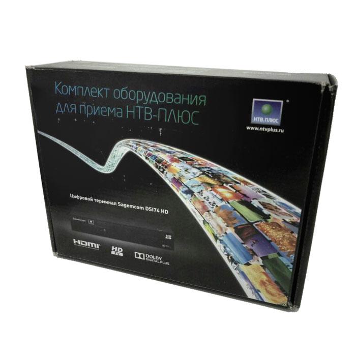 Комплект спутникового телевидения НТВ+ HD Simple «Сибирь» Start без антенны