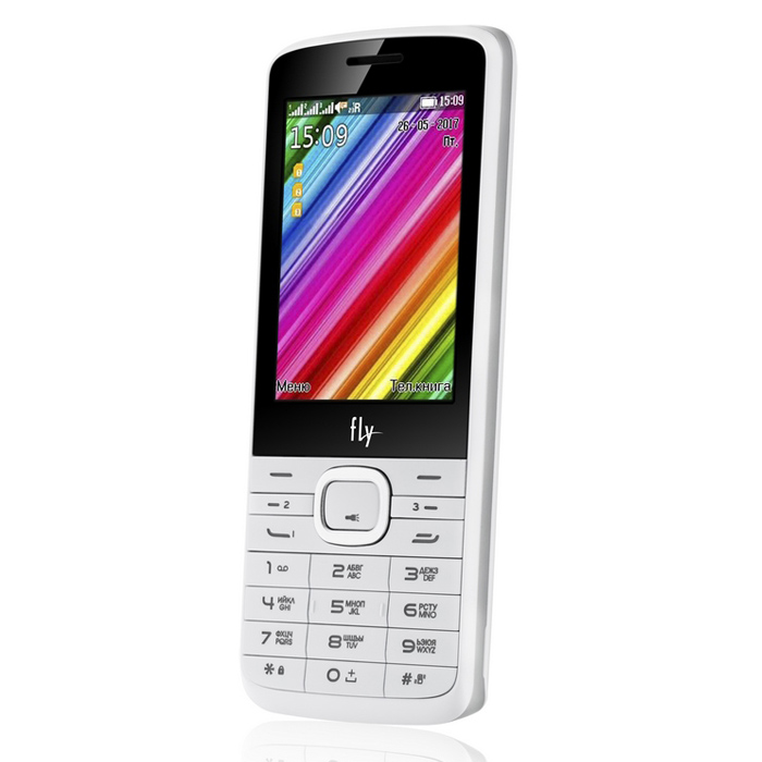 Смартфон Fly TS113 White