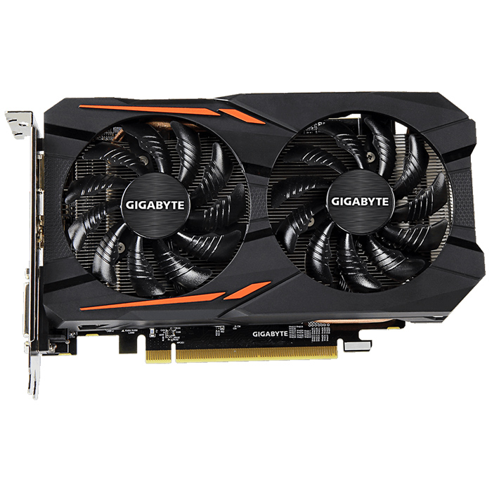 Видеокарта PCI-E Gigabyte ATI Radeon RX 560 2048Mb DDR5 ( GV-RX560Gaming OC-2GD ) Ret
