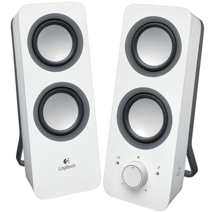 Колонки 2.0 Logitech Z200 White ( 980-000811 )