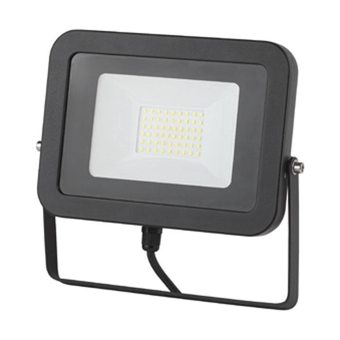 Светодиодный прожектор ЭРА IP65 Slim 50W 230V желтый свет