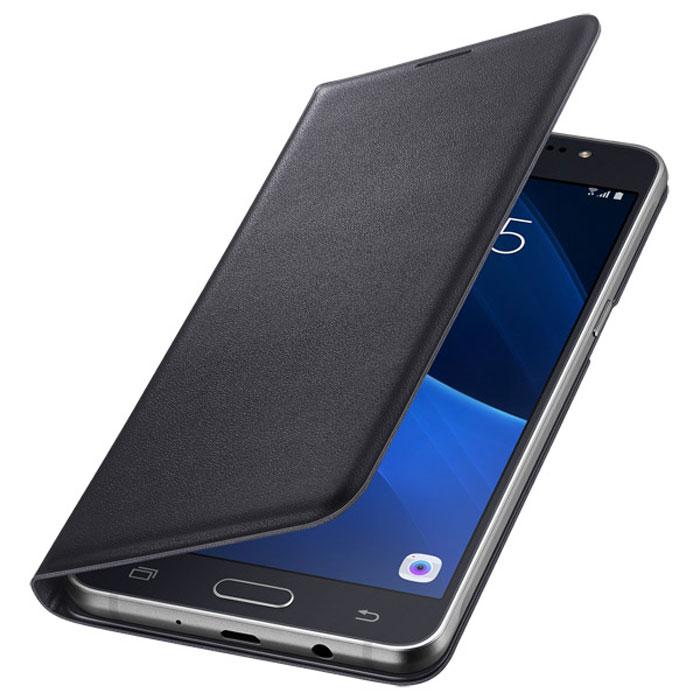 Чехол Samsung Flip Wallet для Galaxy J5 (2016) SM-J510FN, черный