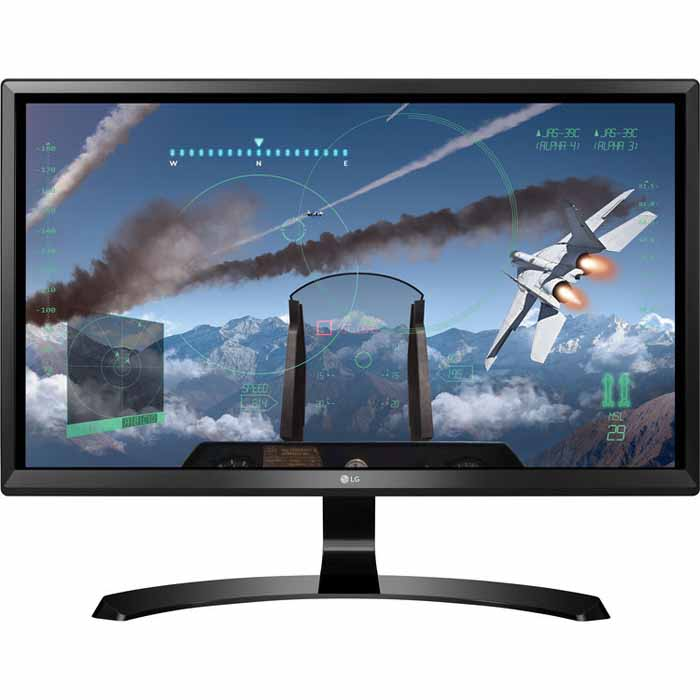 Монитор ЖК LG 24UD58-B 24″ black HDMI DP