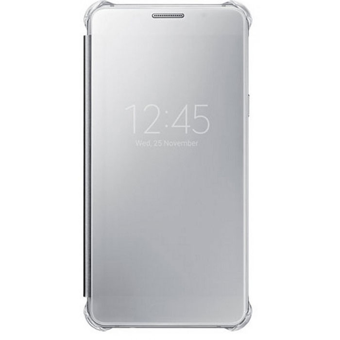 Чехол Samsung Clear View Cover для Galaxy A7 (2016) SM-A710F, серебристый