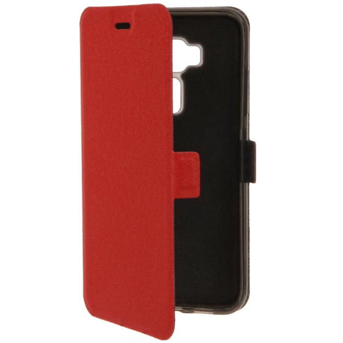Чехол PRIME book case для Asus ZenFone 3 ZE520KL красный