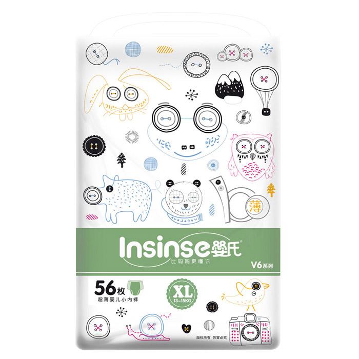 Подгузники Insinse Трусики (13-15кг) 56шт XL