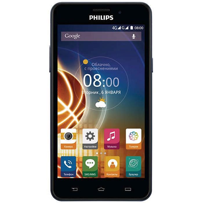 Смартфон Philips Xenium V526 LTE Navy