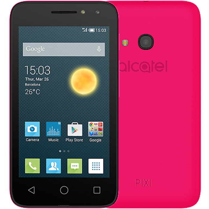 Смартфон Alcatel One Touch 4034D Pixi 4 Pink