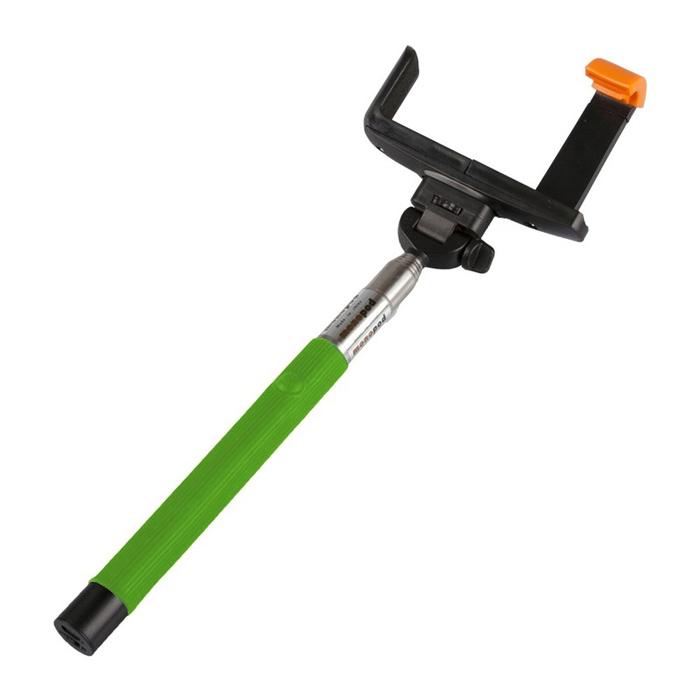 Палка для селфи Liberty MPD-2, зеленая,  для Apple и Android телефонов