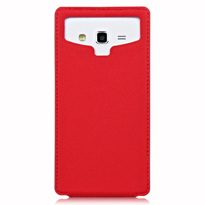 Чехол универсальный для сотовых телефонов 4.8″ Partner Flip-case, красный