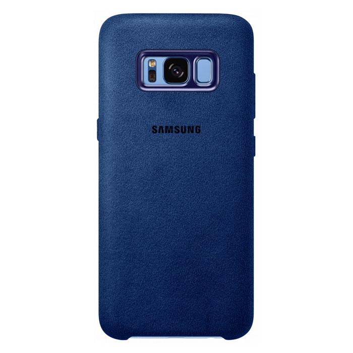 Чехол Samsung Alcantara Cover для Samsung Galaxy S8 SM-G950, синий