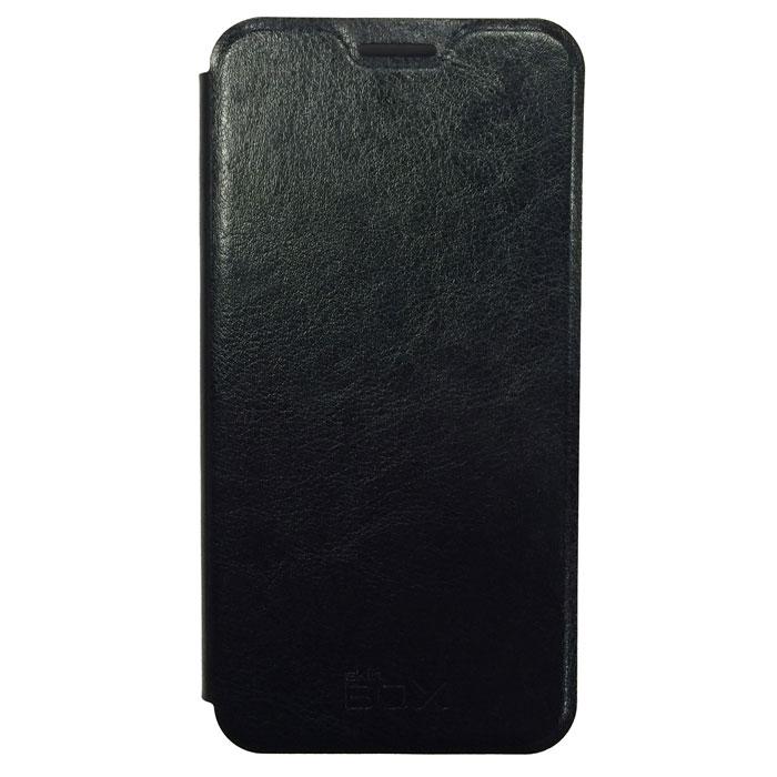 Чехол SkinBox Lux для Meizu M2 Mini, черный