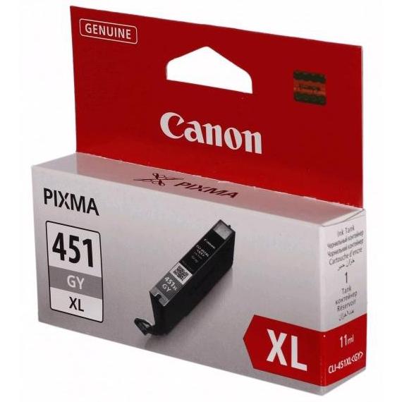 Картридж Canon CLI-451GY XL Gray увеличенный ресурс