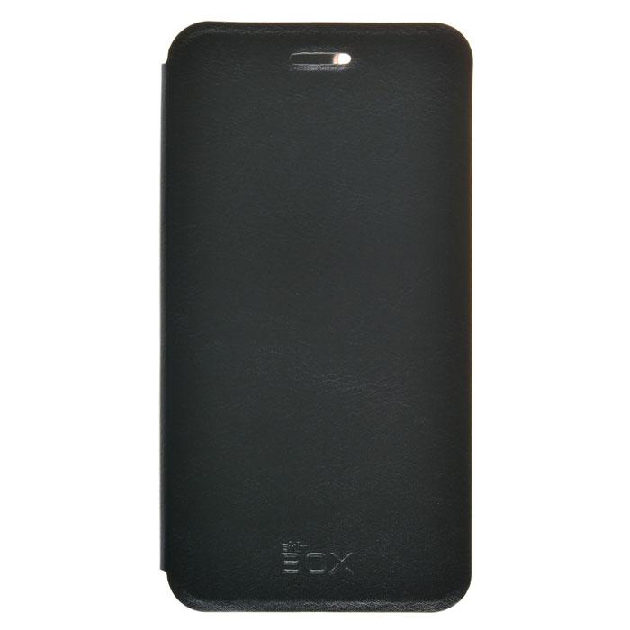 Чехол Skinbox Lux для Lenovo Vibe K5 A6020 (A6020A40)/K5 Plus (A6020A46) черный