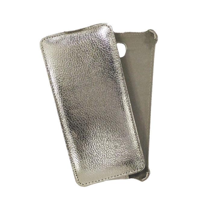 Чехол Gecko Flip case для Samsung Galaxy J5 Prime SM-G570F/DS, серебристый