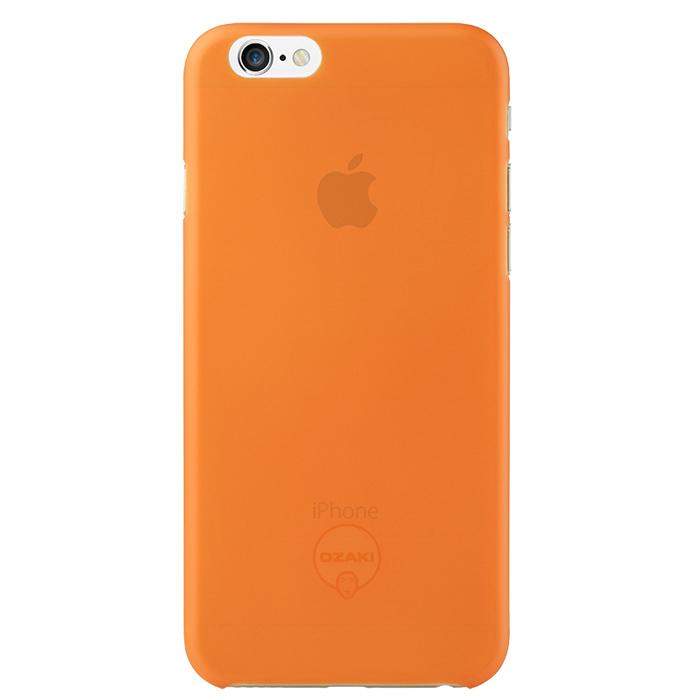 Чехол Ozaki O!coat 0.3 Jelly для iPhone 6 / iPhone 6s, оранжевый