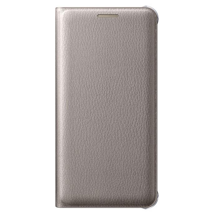 Чехол Samsung Flip Cover для Galaxy A3 (2016) SM-A310F, золотистый